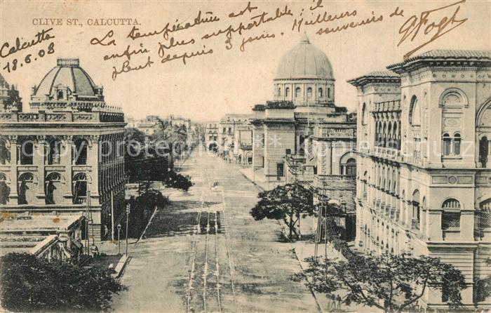 Calcutta Clive Street Calcutta