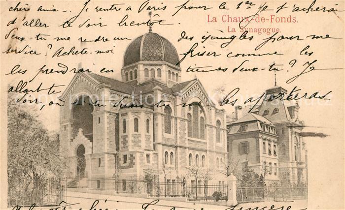 La_Chaux de Fonds La Synagogue La_Chaux de Fonds