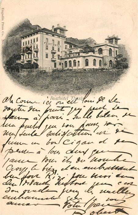 Thusis Post Hotel Thusis