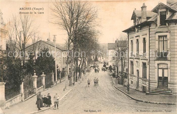 Arches_Vosges Avenue de la Gare Arches Vosges