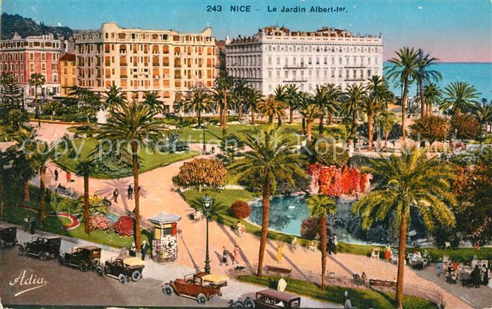 Nice_Alpes_Maritimes Jardin Albert Ier Nice_Alpes_Maritimes