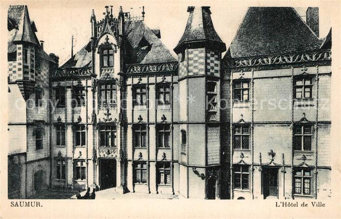 Saumur Hotel de Ville Rathaus Saumur