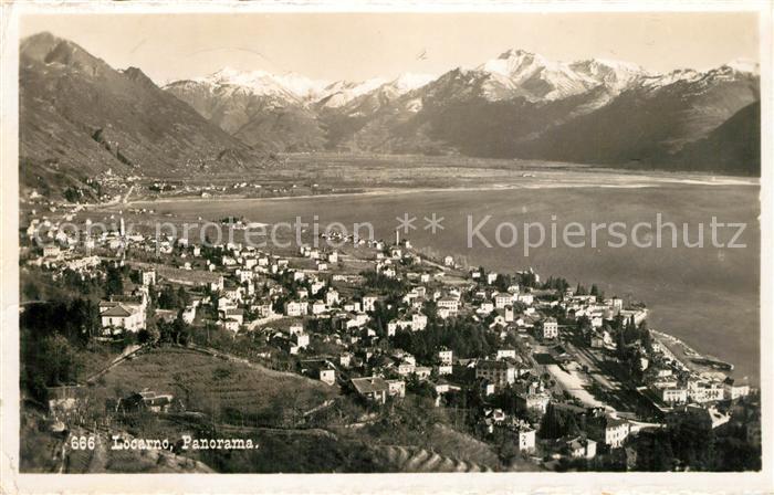 Locarno_Lago_Maggiore Alpenpanorama Locarno_Lago_Maggiore