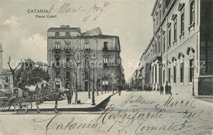 Catania Piazza Cutelli Catania