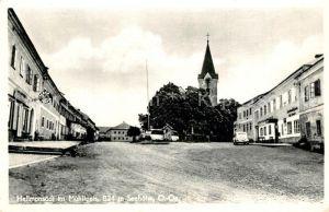 Hellmonsoedt Strassenpartie Kirchturm Hellmonsoedt