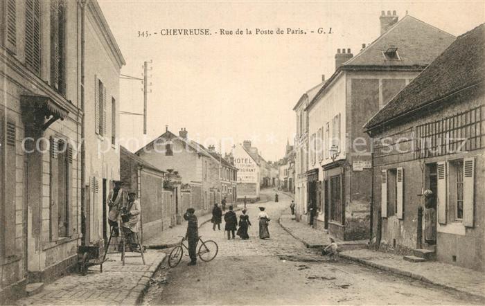 Chevreuse Rue de la Poste de Paris Chevreuse