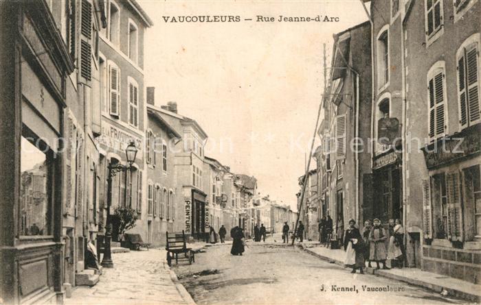 Vaucouleurs Rue Jeanne d Arc Vaucouleurs