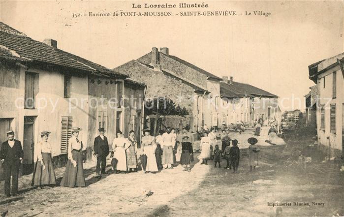 Sainte Genevieve_Meurthe et Moselle Le Village Sainte Genevieve