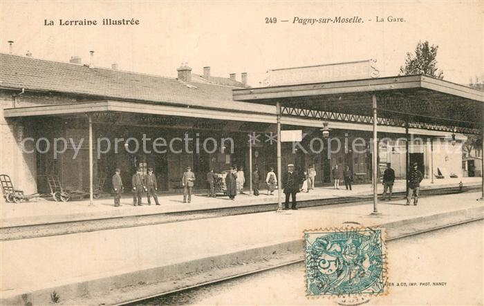 Pagny sur Moselle La Gare Pagny sur Moselle