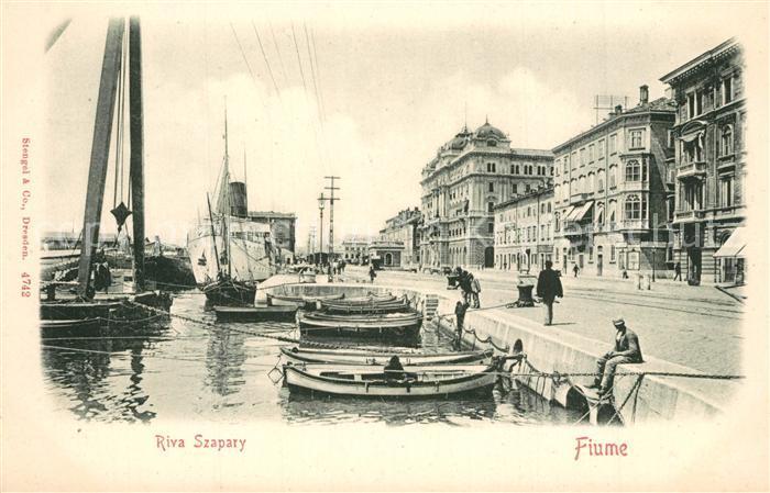 Fiume_Rijeka Rova Szapary Fiume Rijeka