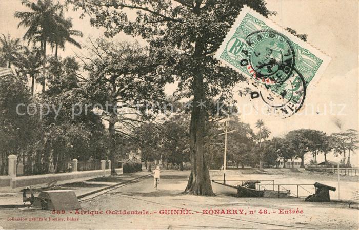 Konakry_Conakry Afrique Occidentale Entree Konakry Conakry