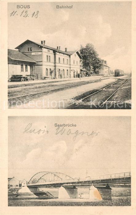 Bous Bahnhof Saarbruecke Bous