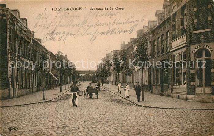 Hazebrouck Avenue de la Gare Hazebrouck