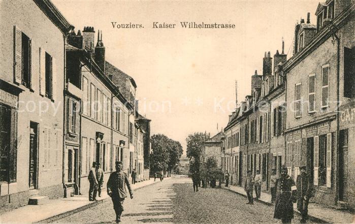 Vouziers Kaiser Wilhelm Strasse Vouziers