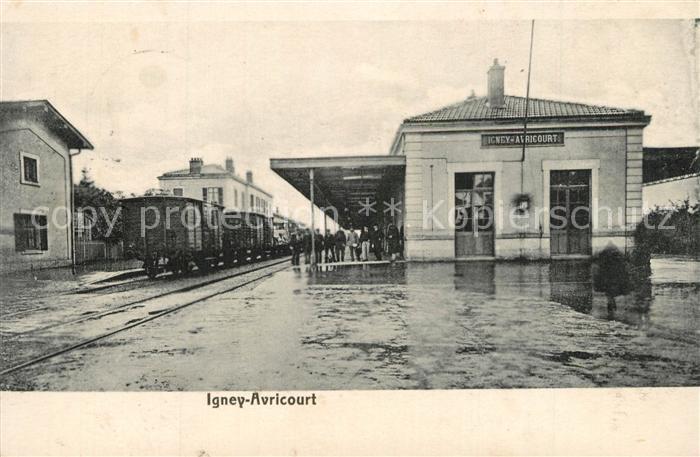 Igney_Avricourt Bahnhof