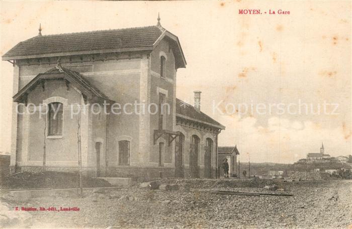 Moyen_Meurthe et Moselle La Gare Moyen_Meurthe et Moselle