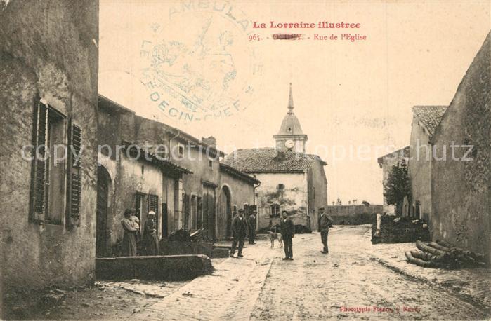 Ochey Rue de l Eglise Ochey