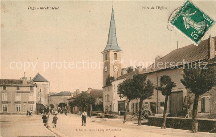 Pagny sur Moselle Place de l Eglise Pagny sur Moselle