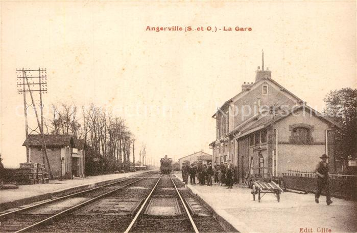 Angerville l_Orcher La Gare Angerville l_Orcher