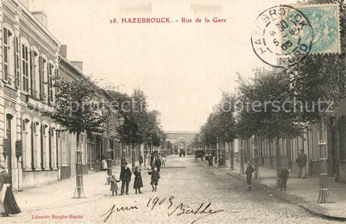 Hazebrouck Rue de la Gare Hazebrouck