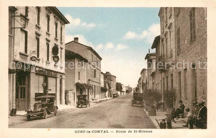 Sury le Comtal Route de St Etienne Sury le Comtal
