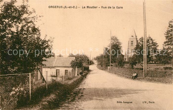 Orgerus Le Moutier Rue de la Gare Orgerus