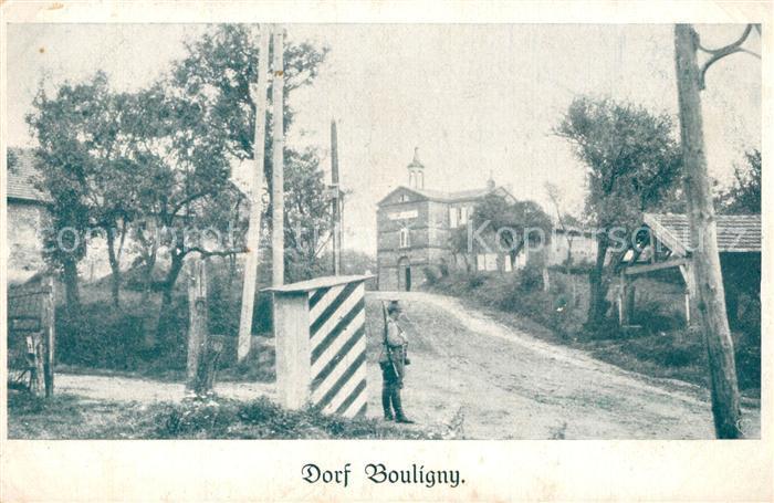 Bouligny Dorfmotiv Wachtposten Bouligny
