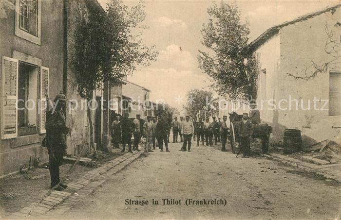 Thillot Strassenpartie Thillot