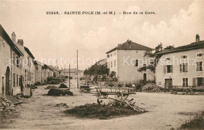 Sainte Pole Rue de la Gare Sainte Pole