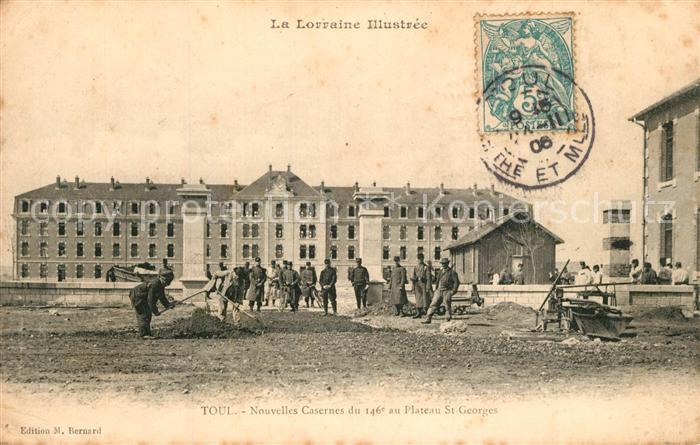 Toul_Meurthe et Moselle_Lothringen Nouvelles Casernes du 146e au Plateau St Georges Toul_Meurthe et Moselle