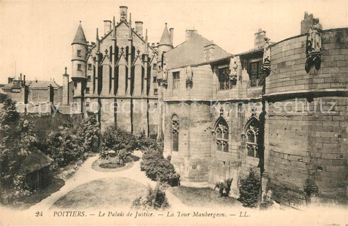 Poitiers_Vienne Palais de Justice Tour Maubergeon Poitiers Vienne