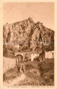 Menton_Alpes_Maritimes Frontiera Italiana Ponte San Luigi Menton_Alpes_Maritimes