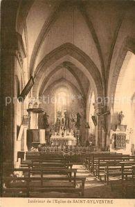 Saint Sylvestre_Ardeche Interieur de l'Eglise de Saint Sylvestre Saint Sylvestre_Ardeche