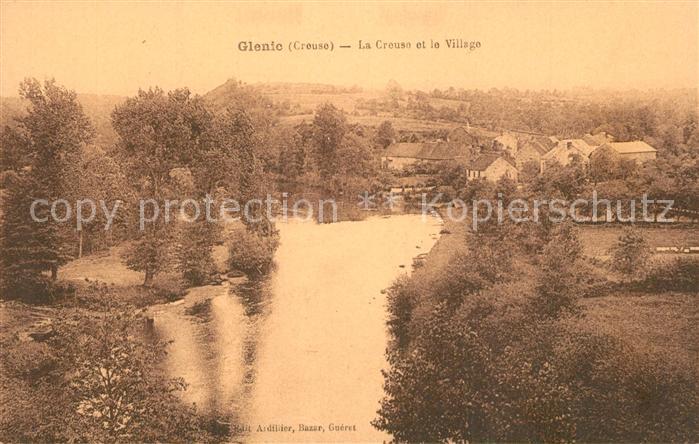 Glenic La Creuse et le Village Glenic