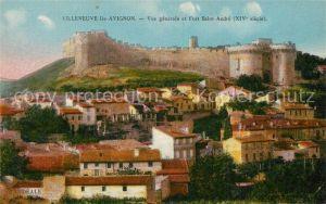 Villeneuve les Avignon Vue generale et Fort Saint Andre Villeneuve les Avignon