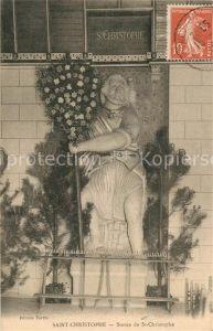 Saint Christophe sur Guiers Statue de Saint Christophe Saint Christophe sur Guiers