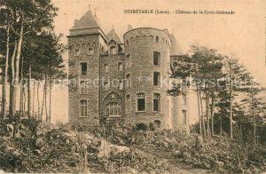 Noiretable Chateau de la Croix Guirande Noiretable