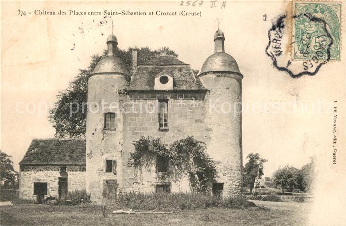 Saint Sebastien_Creuse Chateau des Places Schloss Saint Sebastien_Creuse