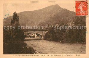 Saint Etienne de Baigorry Pont Espagne La Nourepe Saint Etienne de Baigorry