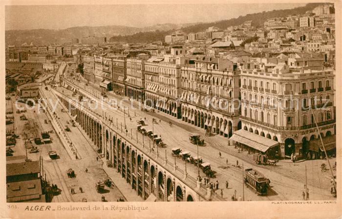 Alger_Algerien Boulevard de la Republique Alger Algerien