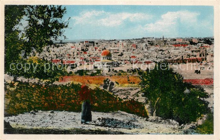 Jerusalem_Yerushalayim Mount of Olives Jerusalem_Yerushalayim