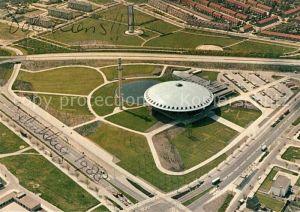 Eindhoven_Netherlands Evoluon Fliegeraufnahme Eindhoven_Netherlands