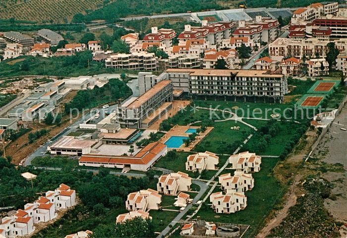 Naxos Poker Club Hotel Fliegeraufnahme Naxos