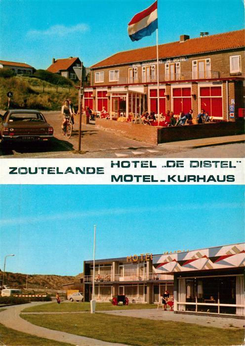 Zoutelande Hotel de Distel Motel Kurhaus Zoutelande