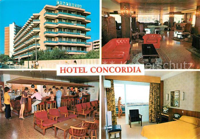 Playas_de_Palma_Mallorca Hotel Concordia Foyer Bar Zimmer Playas_de_Palma_Mallorca