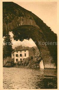 Saint Etienne de Baigorry Vieux Pont sur la Nive Saint Etienne de Baigorry