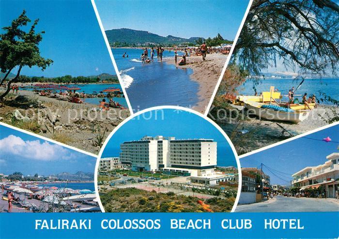 Faliraki_Rhodos Colossos Beach Club Hotel Faliraki Rhodos
