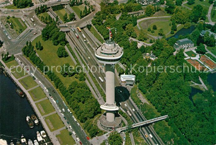 Rotterdam Euromast Fliegeraufnahme Rotterdam