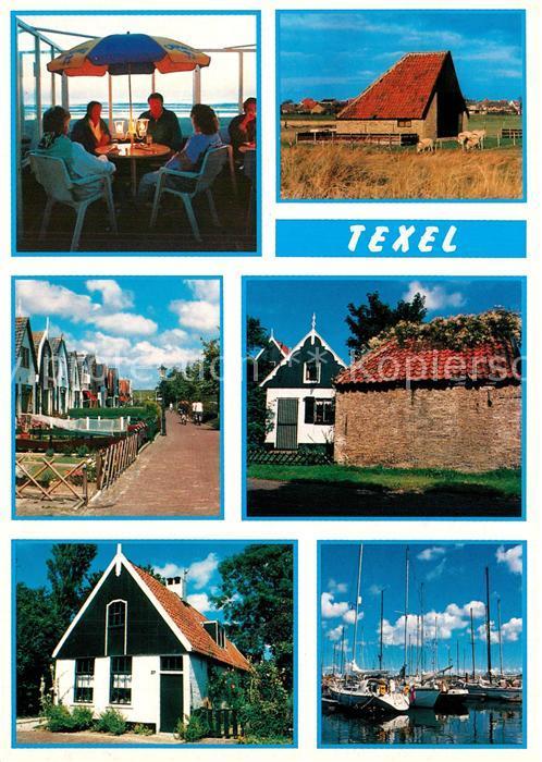 Texel Teilansichten Bootshafen Texel