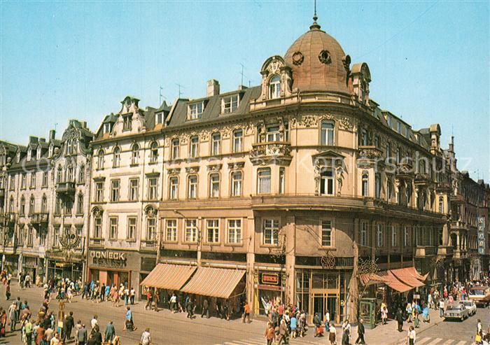 Katowice Zabytkowe kamieniczki przy ulicy 3 Maja Katowice